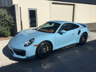 Paint protection for Porsches